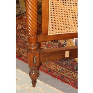 20th Century Art Nouveau Caned Headboard Preview