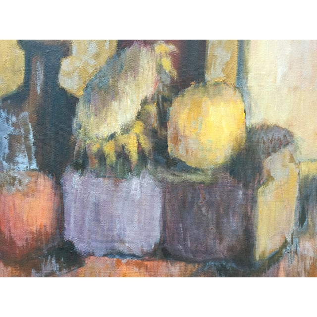 Mid-Century Modern Mid-Century Still Life Painting by Joan Adams For Sale - Image 3 of 5