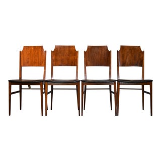 Paul McCobb 'Delineator' Rosewood Dining Chairs - Set of 4