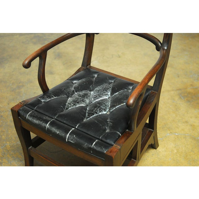 Rosewood Metamorphic Chair by Charlotte Horstmann - Image 3 of 10