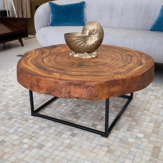Slice of Tree Modern Coffee Table Preview