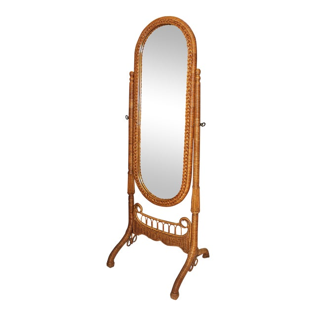Cheval Floor Mirror by Heny Link | Chairish