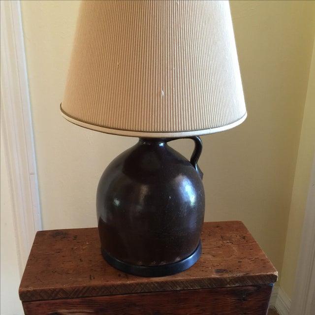 Vintage Pottery Jug Lamp Chairish