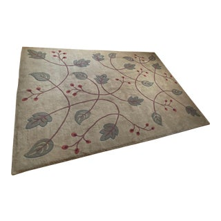 Stickley Falling Leaves Rug - 9′ × 12′ For Sale
