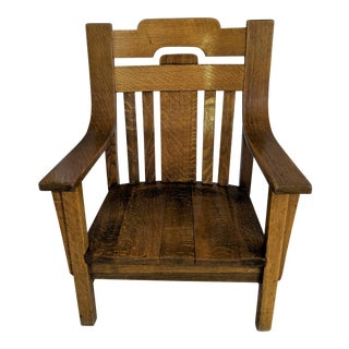Arts & Craft Original Chair For Sale