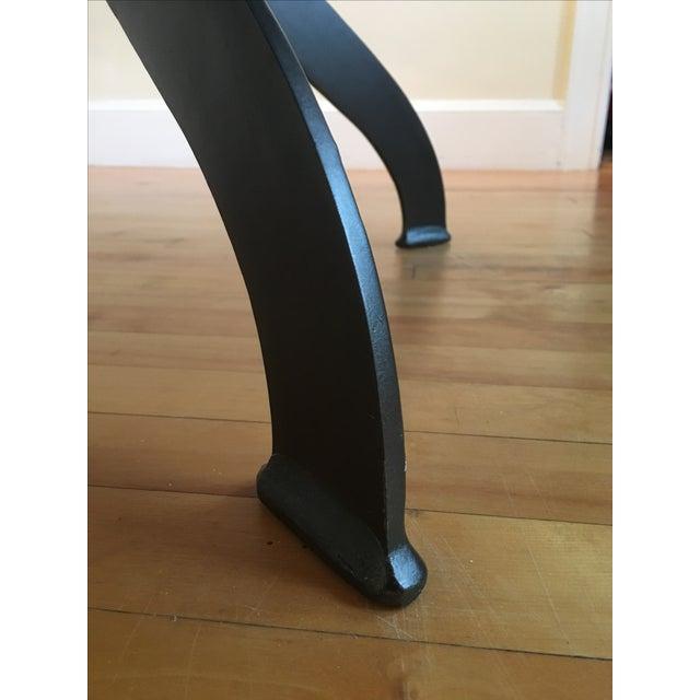 Magnussen Walton Iron & Wood Pedestal Table - Image 7 of 7