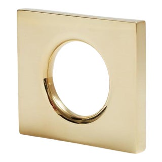 Nest Studio Collection Mod-1.5 Polished Brass No Lacquer For Sale