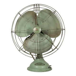 Vintage Ac. Electric Oscillating Fan C.1950 For Sale