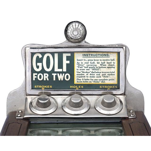 1920s Chester-Pollard Junior Golf Gaming Machine For Sale - Image 5 of 6