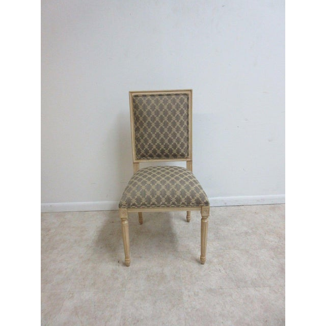 Ethan Allen Swedish Side Chairs - A Pair For Sale - Image 10 of 11