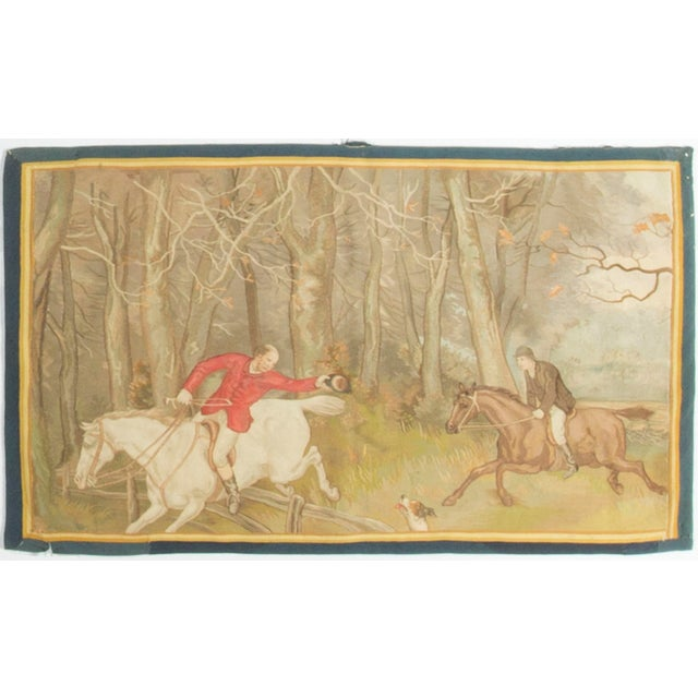 French Circa 1900 Tapestry For Sale - Image 4 of 4