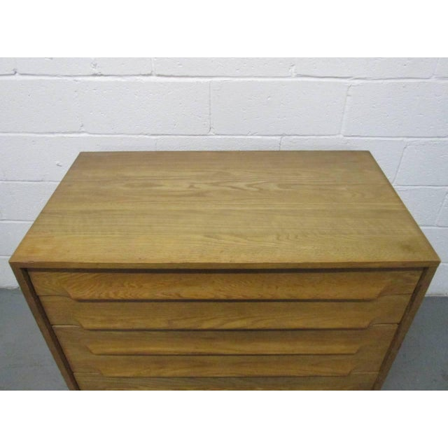 Pair of Cerused Oak Chests For Sale - Image 4 of 7