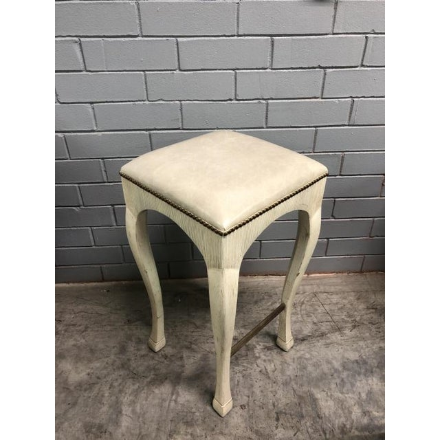 Traditional Thomas O'Brien Galia Bar Stool for Century Furniture For Sale - Image 3 of 4