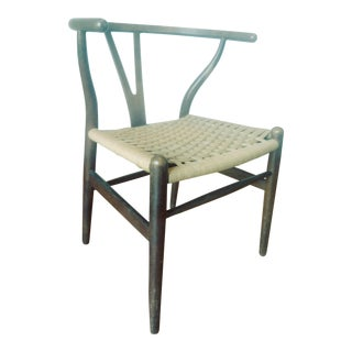 Mid-Century Signed Carl Hansen and Son Wishbone Chair
