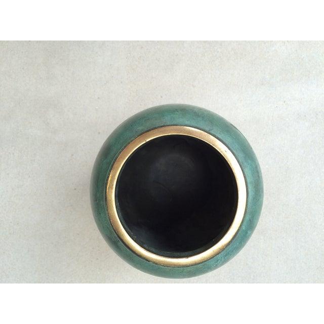 Vintage Bronze Vase - Image 6 of 6