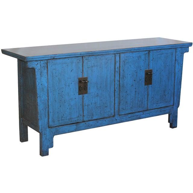 Bold Blue Sideboard - Image 2 of 7