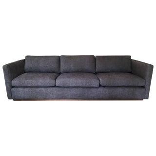 Milo Baughman for Thayer Coggin Tuxedo Sofa For Sale