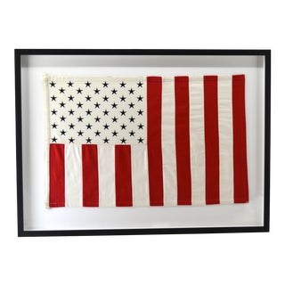 Modern Flag Vertical Stripes, Framed For Sale