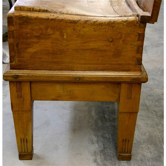 Traditional Italian 19th C. Butcher Block For Sale - Image 3 of 8