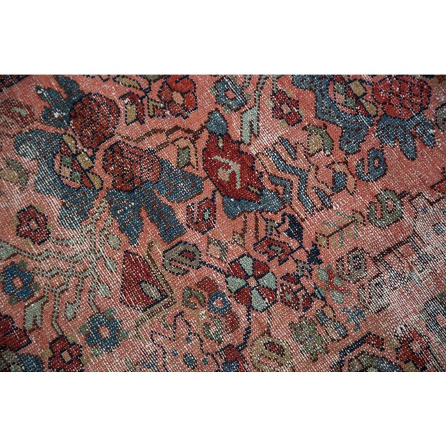 "Distressed Antique Lilihan Rug - 4'3"" X 6'5"" - Image 3 of 8"