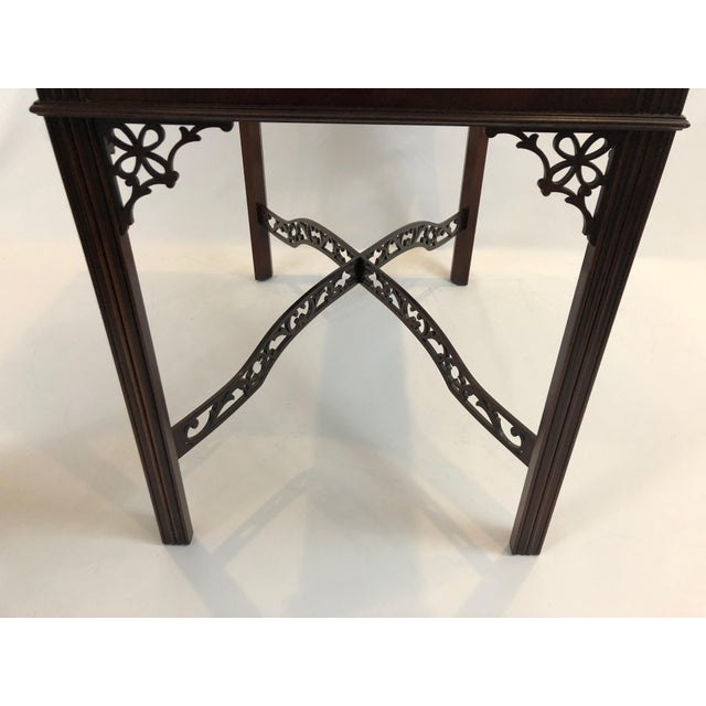 Chippendale Flame Mahogany Side Table For Sale In Philadelphia - Image 6 of 13