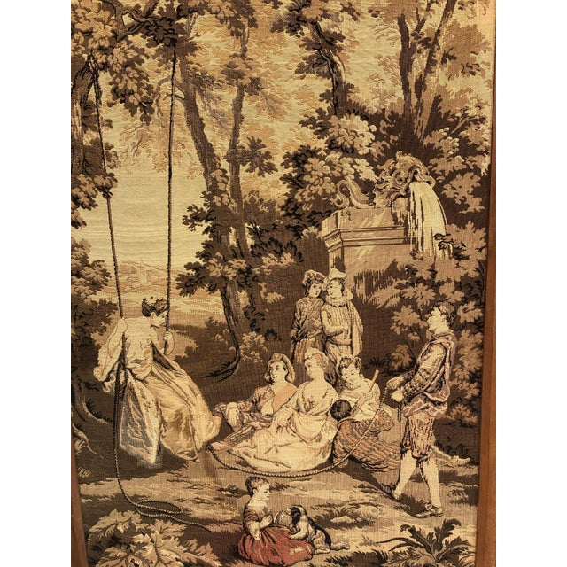 19th Century French Tapestries - a Pair For Sale - Image 9 of 11