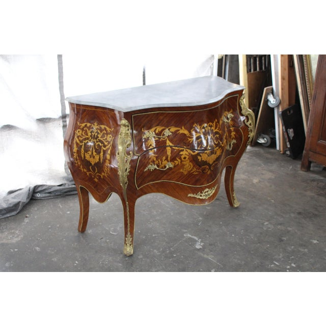Mid 19th Century Antique French Bombay Commode For Sale In Atlanta - Image 6 of 13