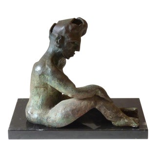 Bronze Sculpture of Woman