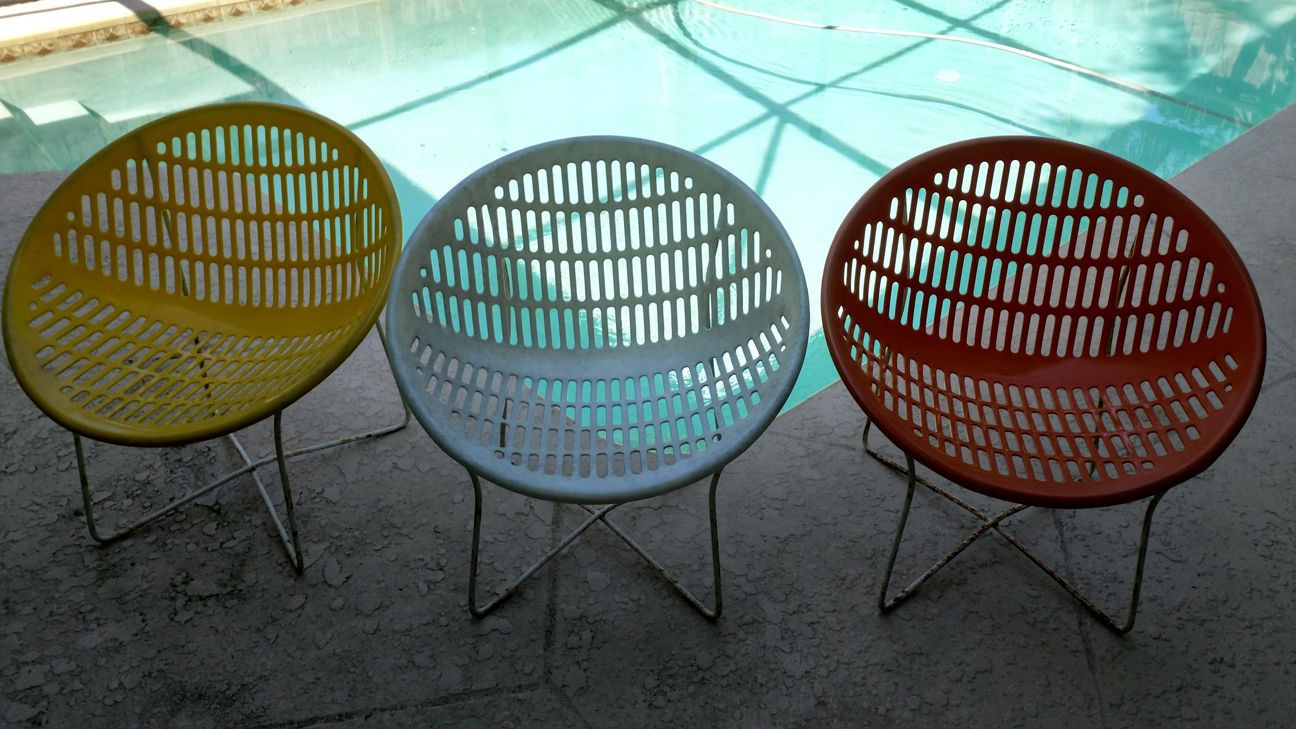 Delicieux Fabio Fabiani And Michelange Panzini Solair Chairs   Set Of 3   Image 2 Of 4