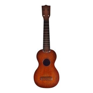 Early 1920's C. F. Martin Style 0 Mahogany Soprano Ukulele For Sale