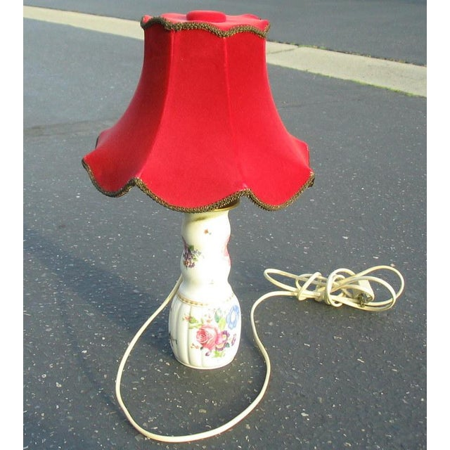 1904 Antique Lorenz Hutschenreuther Selb German Porcelain Lamp - Image 5 of 6