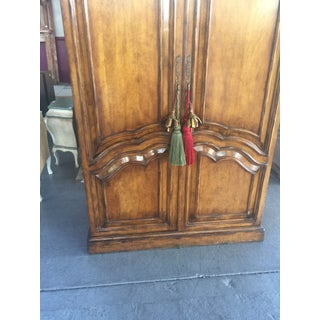 French Style Armoire Bar Cabinet Preview