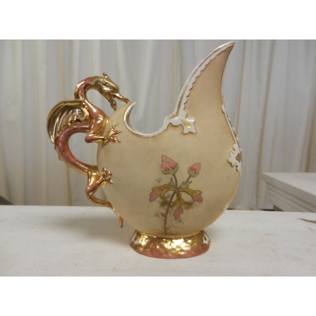 Vintage Ewer With Griffin Handle - Image 3 of 6