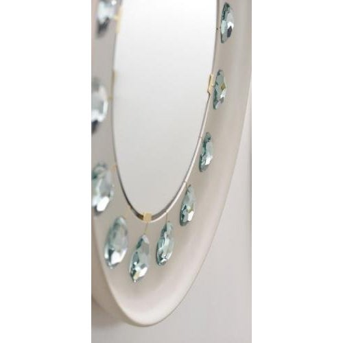 The Diamond Mirror is hand made in Milan Italy by artist Ghiro. The mirror is totally customizable and available in in a...