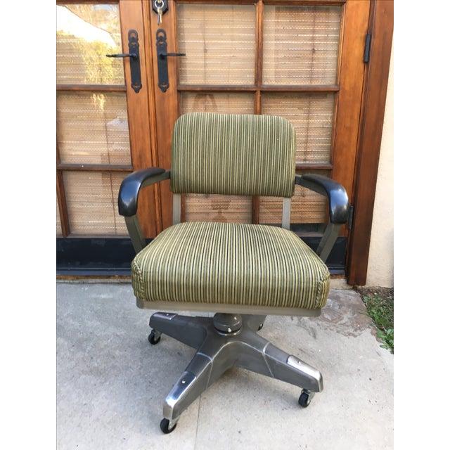 Industrial Vintage Office Desk Chair - Image 2 of 6