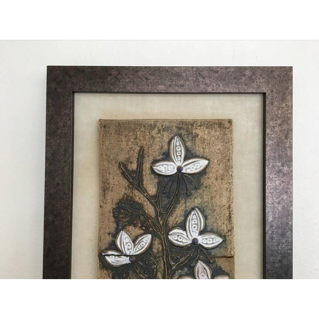 Victoria Littlejohn Ceramic Tile Wall Art by Victoria Littlejohn For Sale - Image 4 of 8