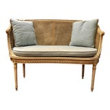 Image of Louis XVI Style Settee For Sale