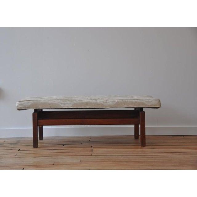 Jens Risom Design Jens Risom Floating Bench For Sale - Image 4 of 4