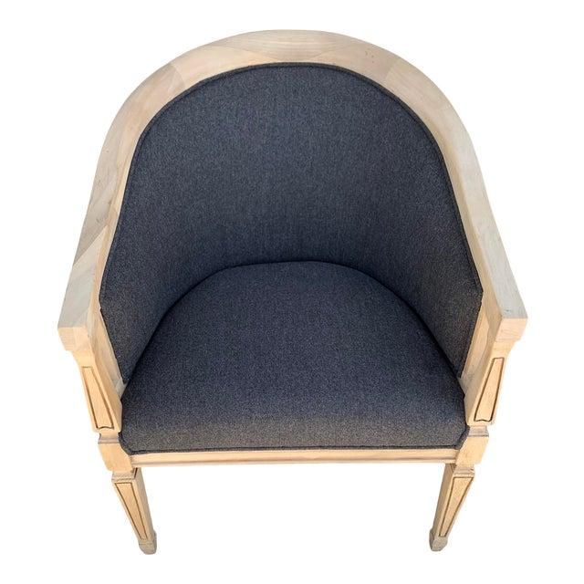 Vintage Oak Arm Chair For Sale