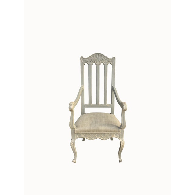 19th Century Louis Philippe French Arm Chair For Sale - Image 10 of 10