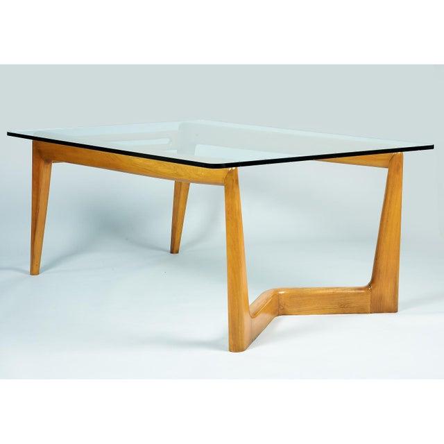 1950s Mid-Century Modern Pierluigi Giordani Biomorphic Dining Table For Sale - Image 4 of 13
