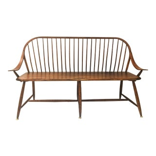 Vintage Spindle Back Bench
