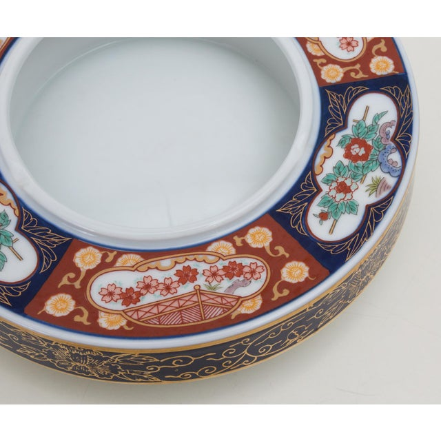 Vintage Gold Imari Catchall Dish or Cache Pot - Image 4 of 8