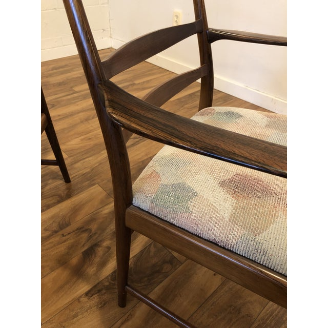 Rosewood Mid Century Armchairs by Torbjorn Afdal for Vamo Sonderborg -A Pair For Sale In Seattle - Image 6 of 13
