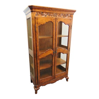 Hooker Furniture Country French Style Bookcase For Sale