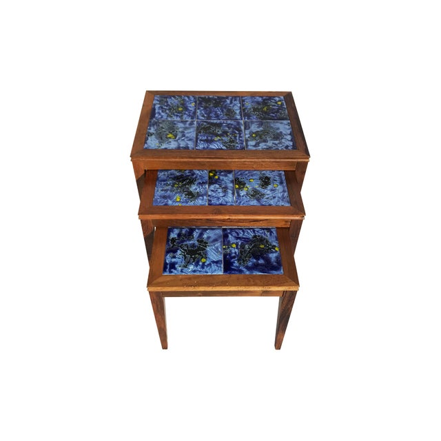 Modern Nesting Tables - Set of 3 - Image 7 of 8