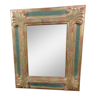Labarge Italian Florentine Style Gilt Carved Mirror For Sale