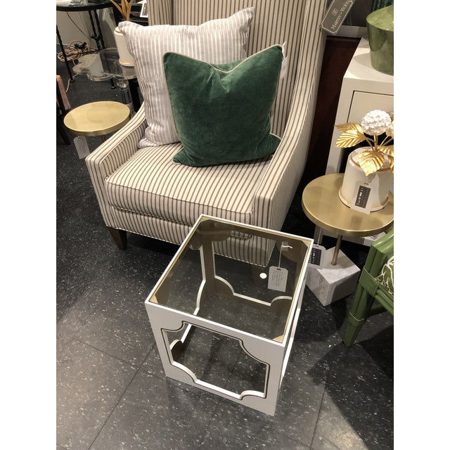 2010s Contemporary Chelsea House Stendhal Accent Table For Sale - Image 5 of 8