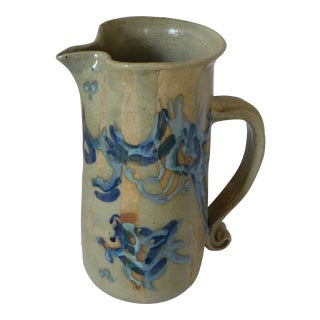 Signed Barbara Gittleson Studio Pottery Pitcher