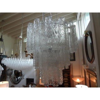 1960s Mid Century Murano Glass Chandelier-Venini Style Preview